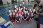 Winter swim gala winners