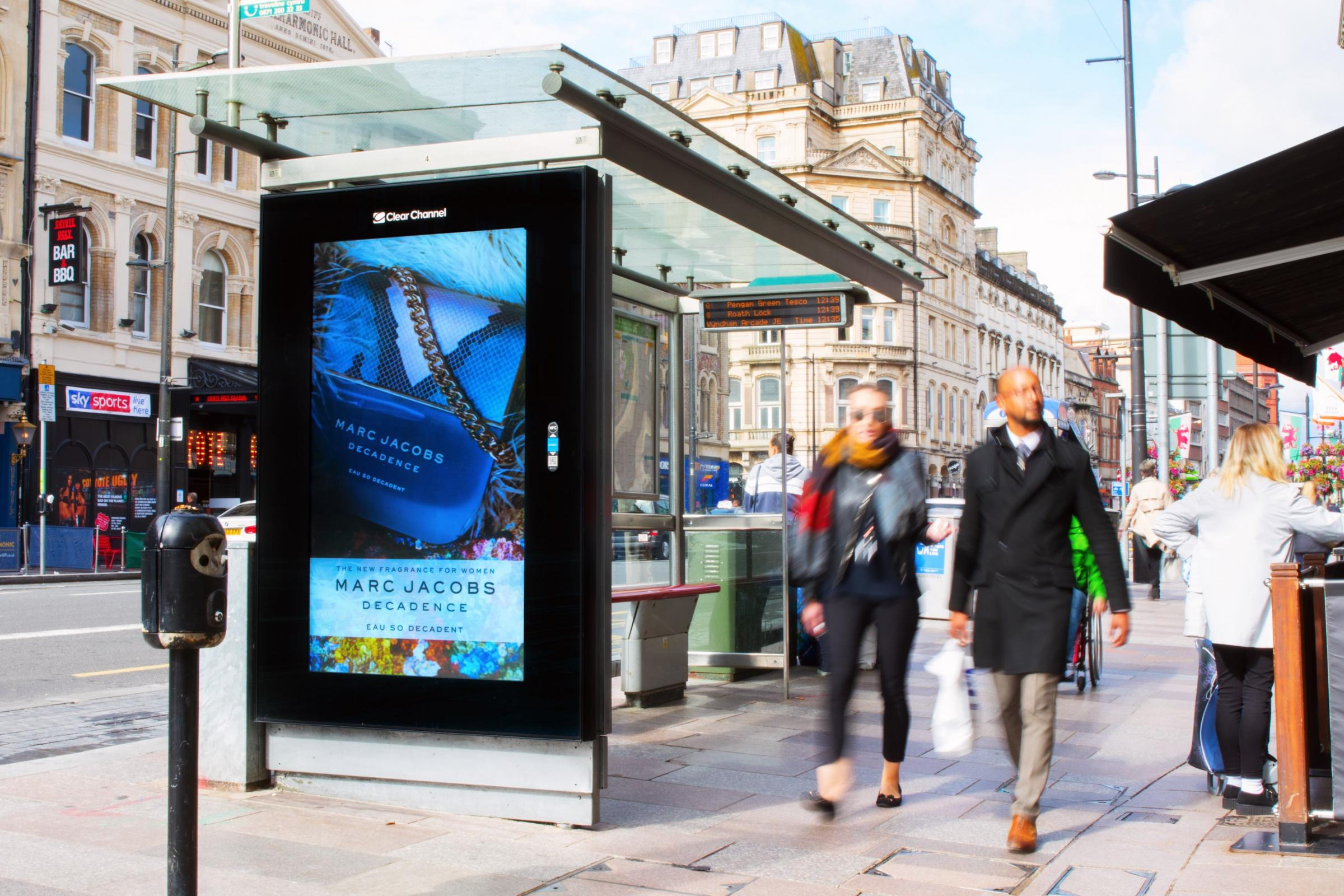 PRESENCE: Romag's deal with Amscreen will see it support the latter's digital signage endeavours