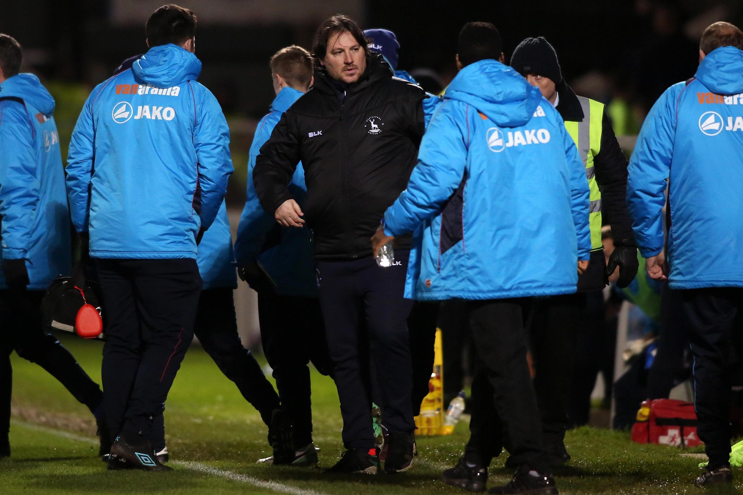 GONE: Craig Harrison has left his job as Hartlepool manager