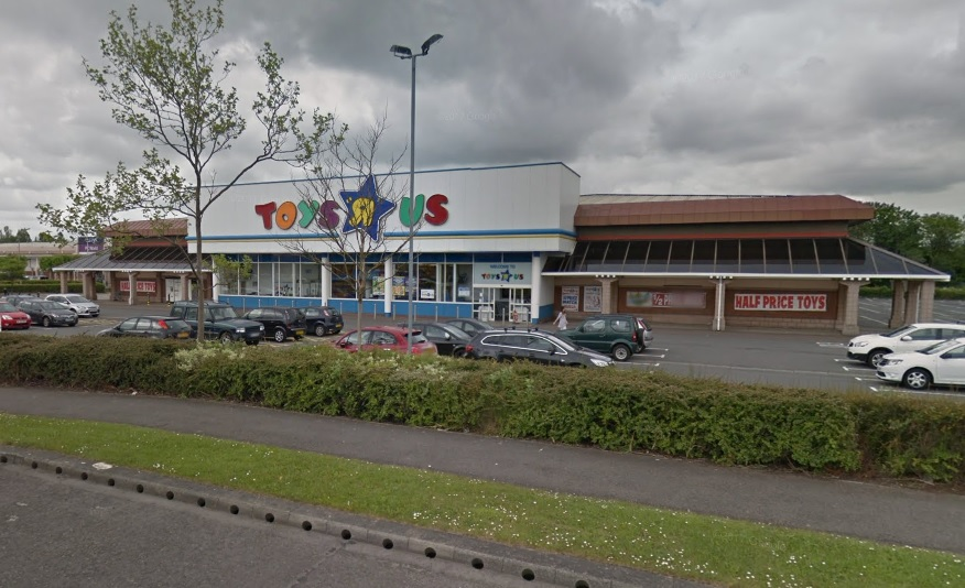 BASE: Toys 'R' Us' store on Teesside Retail Park, near Stockton      Picture: GOOGLE