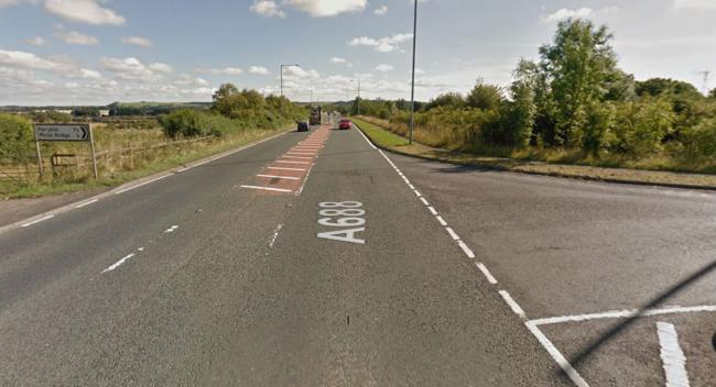 A688 Reopened After Two Car Crash At Metal Bridge The Northern Echo