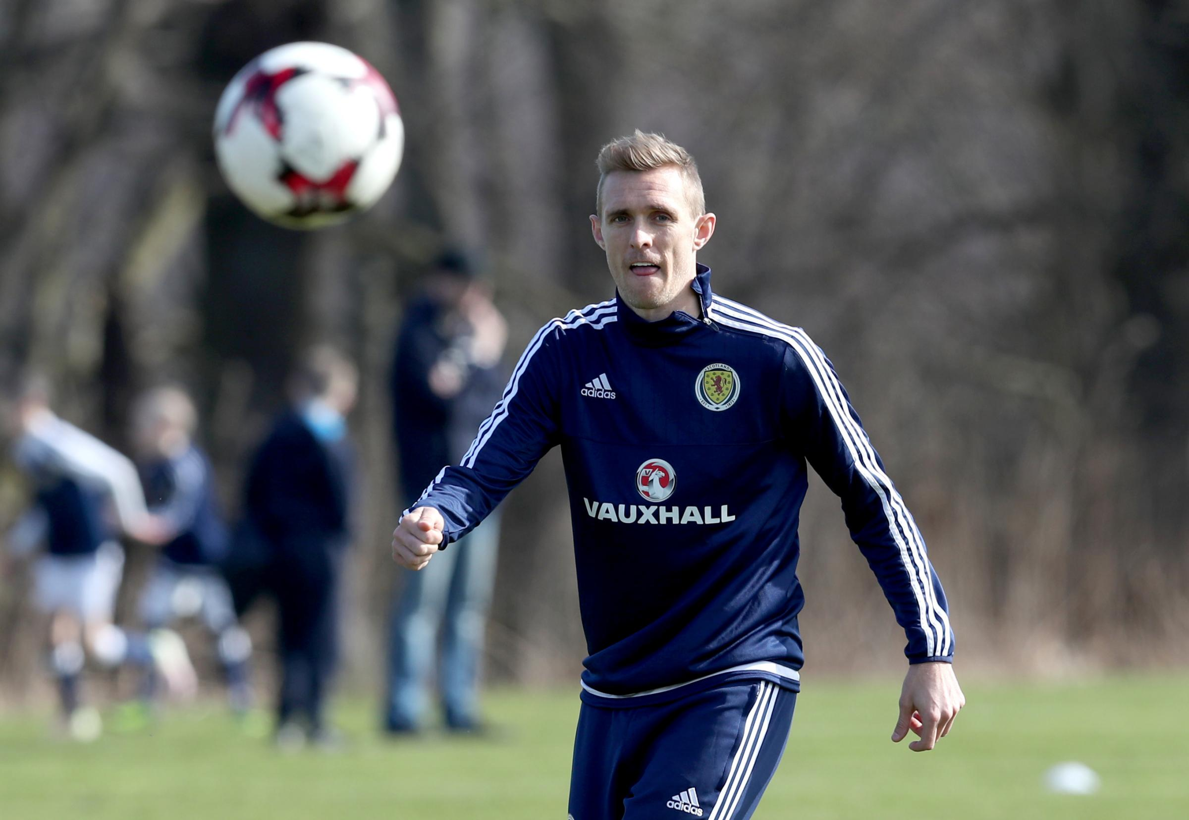 ILLNESS: Footballer Darren Fletcher has spoken publicly of his battle with ulcerative colitis. He was diagnosed in 2011 but returned to the game after surgery Picture: PA
