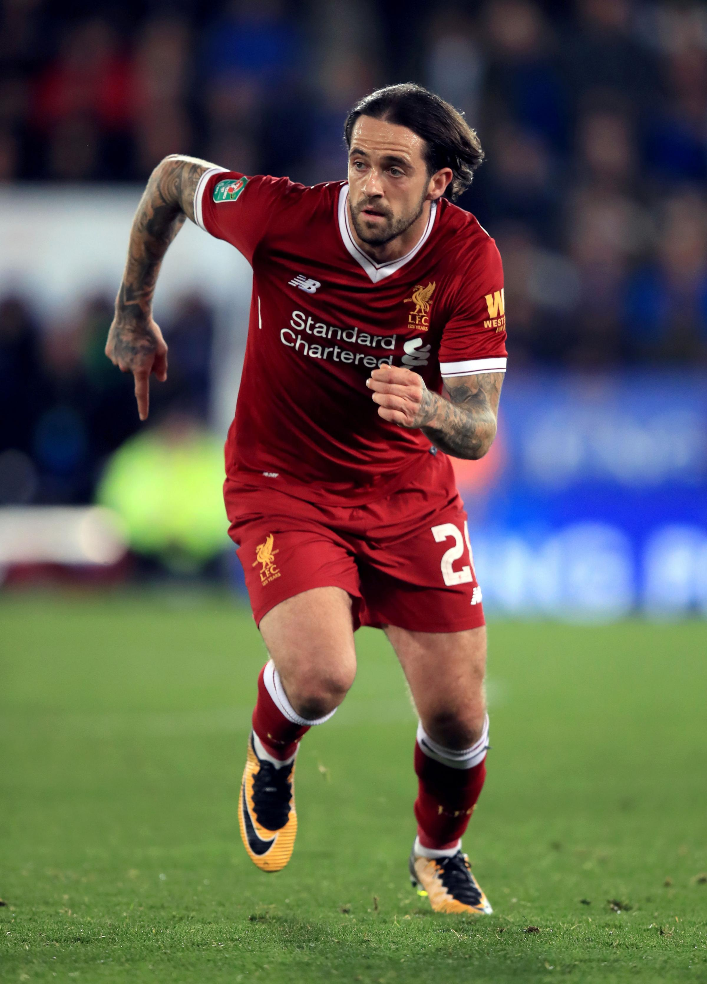 Danny Ings of Liverpool is a target for Newcastle. Picture: PA