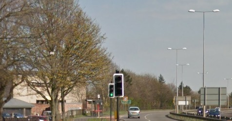 UPGRADE: Work on the Felling bypass is almost complete. Picture: Google