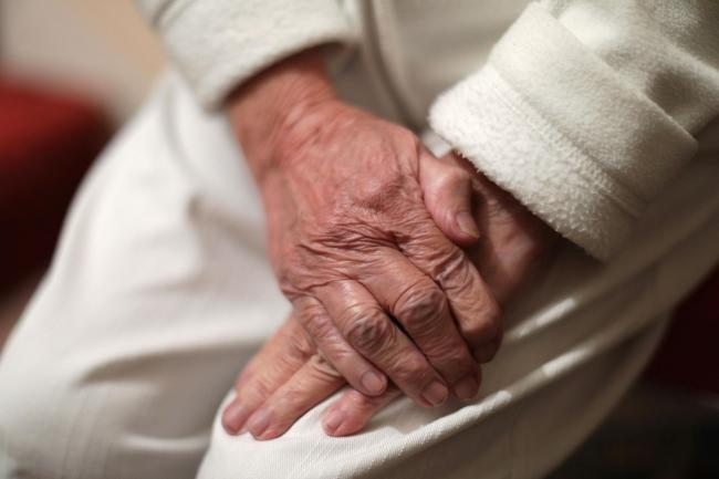 The elderly are at risk as snow falls and ice forms this winter
