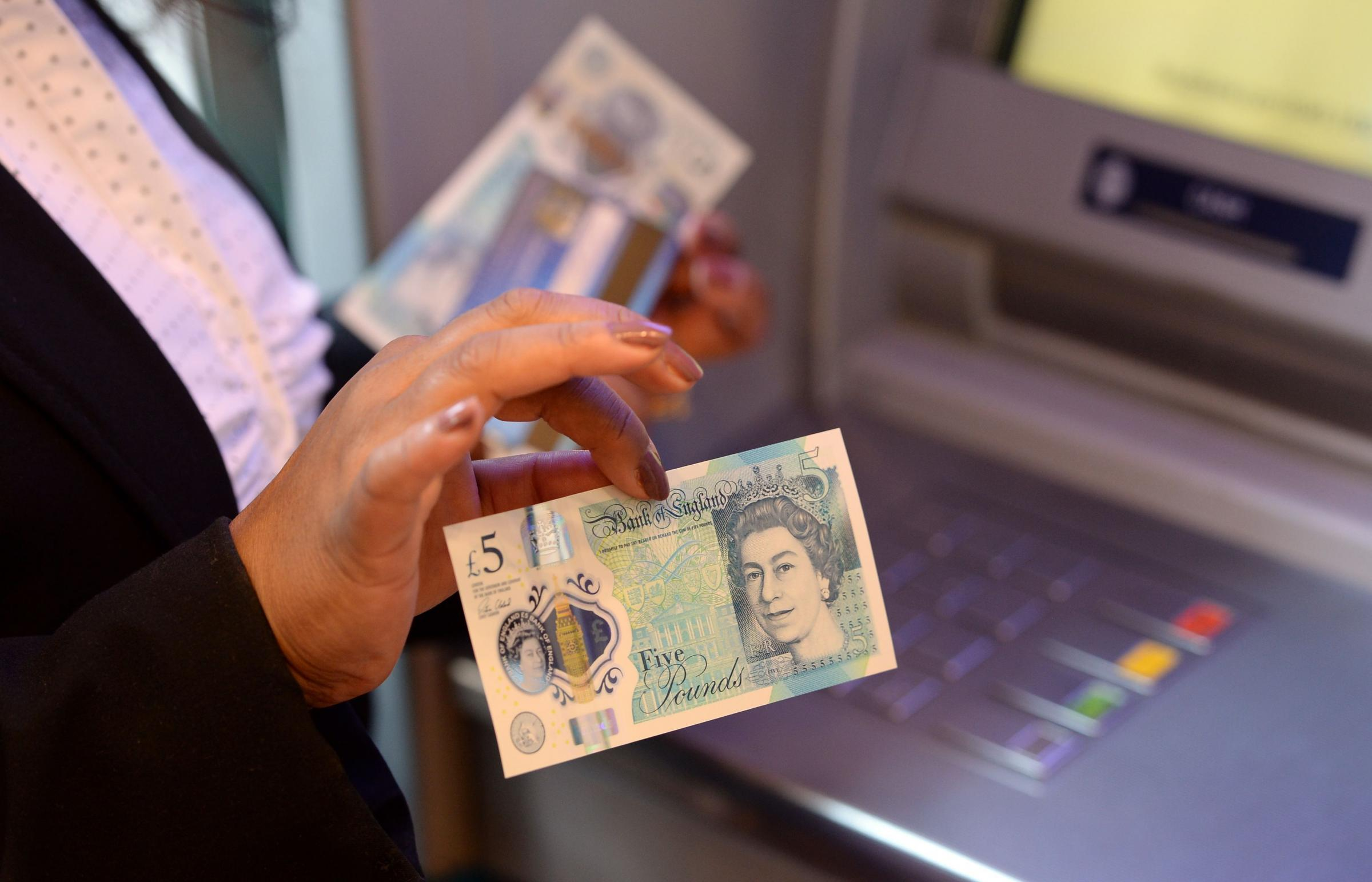 ATM: Proposals to get rid of cash machines could hit North Yorkshire particularly badly. Picture: JOE GIDDENS/PA WIRE