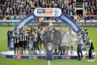 GLORY BOYS: Newcastle United's Championship title triumph was one of the North-East sporting highlights of 2017