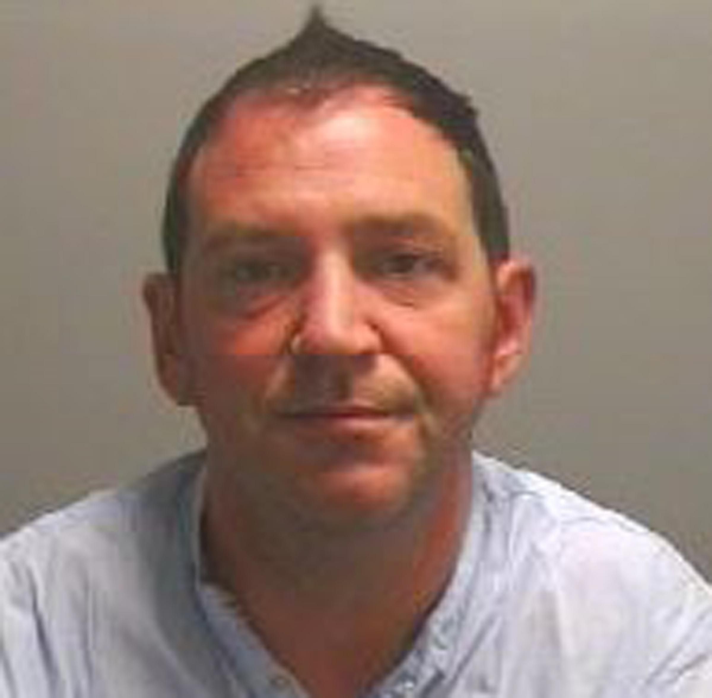 JAILED: Peter Furness jailed for bleach attack