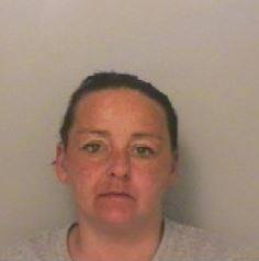 Claire Neal, 39, allowed her brown and white Staffordshire bull terrier, named Marley, to escape from home and carry out the terrifying attack in Blyth, Northumberland. Picture: NORTHUMBRIA POLICE