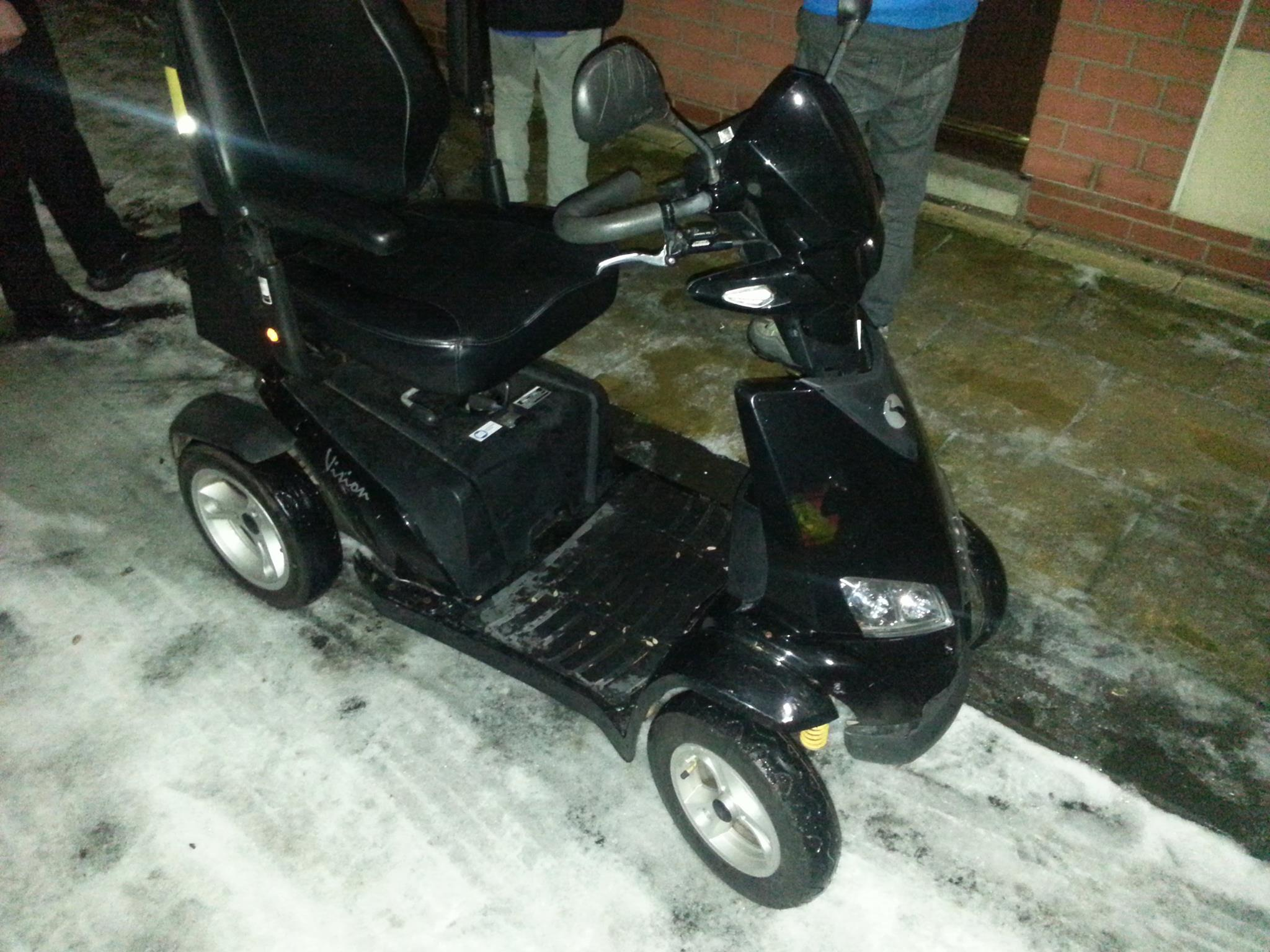 STOLEN: Drunken woman arrested after stealing mobility scooter in Hartlepool