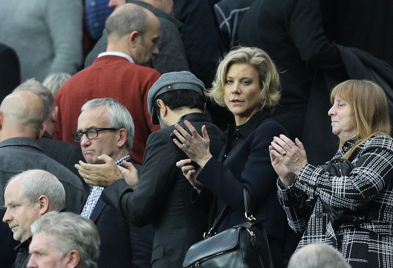 Amanda Staveley and her PCP Capital Partners group are thought to have tabled an offer above the £300m mark for Newcastle United. Picture: PA