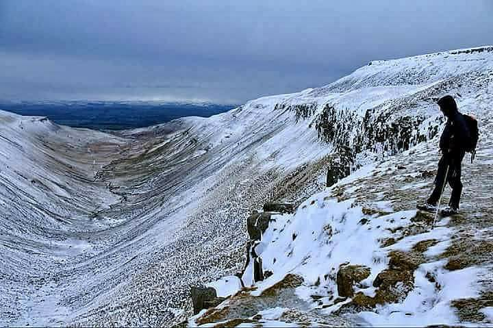 This picture of High Cup Nick in the North Pennines was taken by Ian Maggiore of ‎The Northern Echo Camera Club