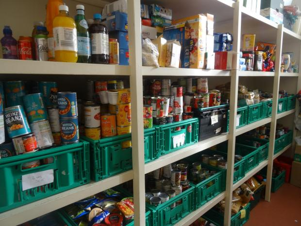 The Northern Echo: CRISIS: Many families are being supported by foodbanks Picture: CHURCH ACTION ON POVERTY