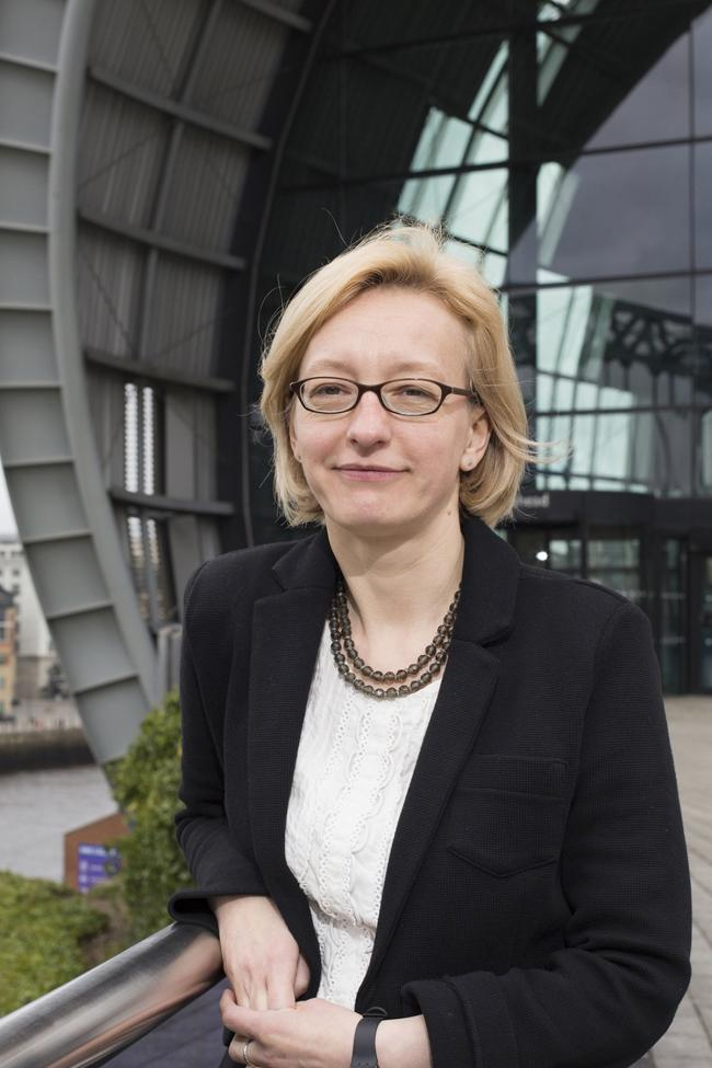 VARIETY: Abigail Pogson, boss at Sage Gateshead, says the diversity of her job makes it thoroughly enjoyable