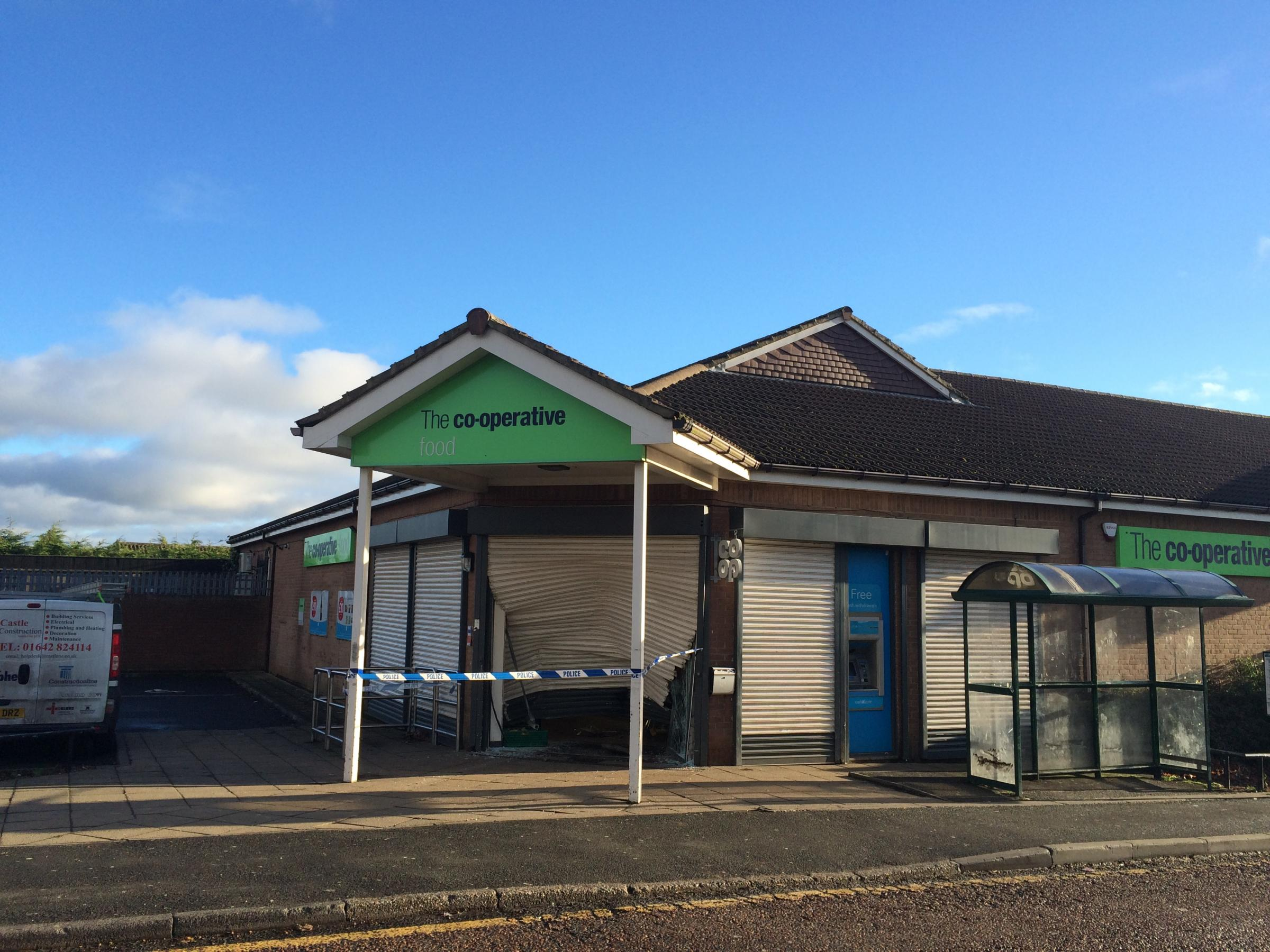Trimdon village co op closed following incident the northern echo