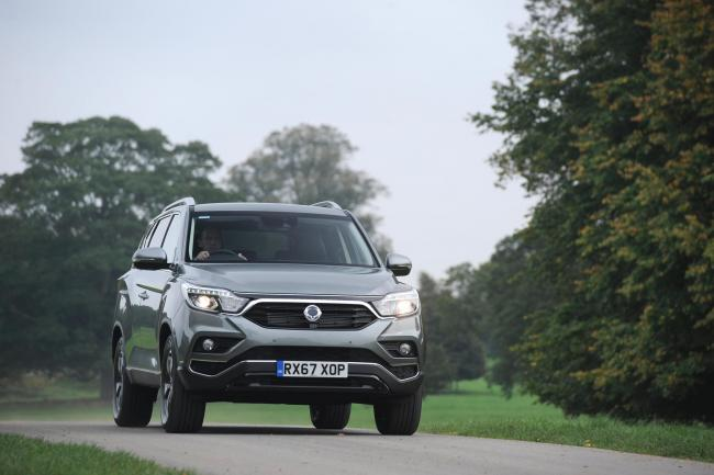 Half the price of a Range Rover - just as good? Ssangyong Rexton tested
