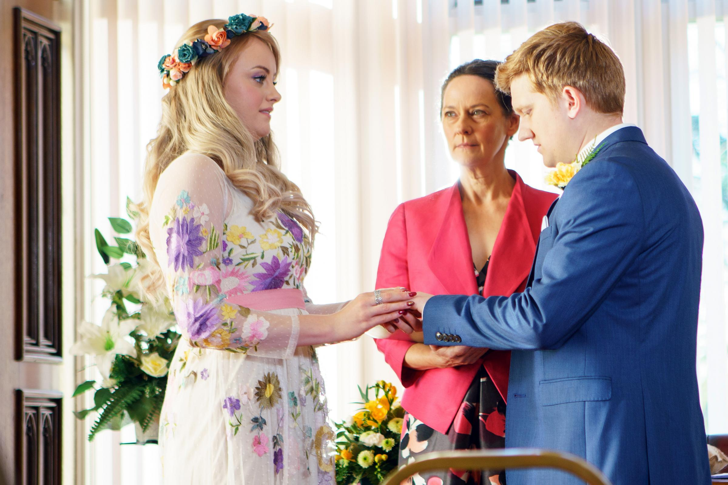 As the wedding guests gather at the register office will Daniel make his move and can Sinead Tinker [KATIE McGLYNN] ignore the doubts in her heart and say I do to Chesney Brown [SAM ASTON]