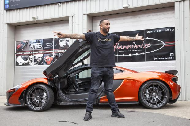 The Northern Echo: Yianni: Supercar CustomiserPicture Shows: Yianni CharalambousLocation: Yiannimize Garage