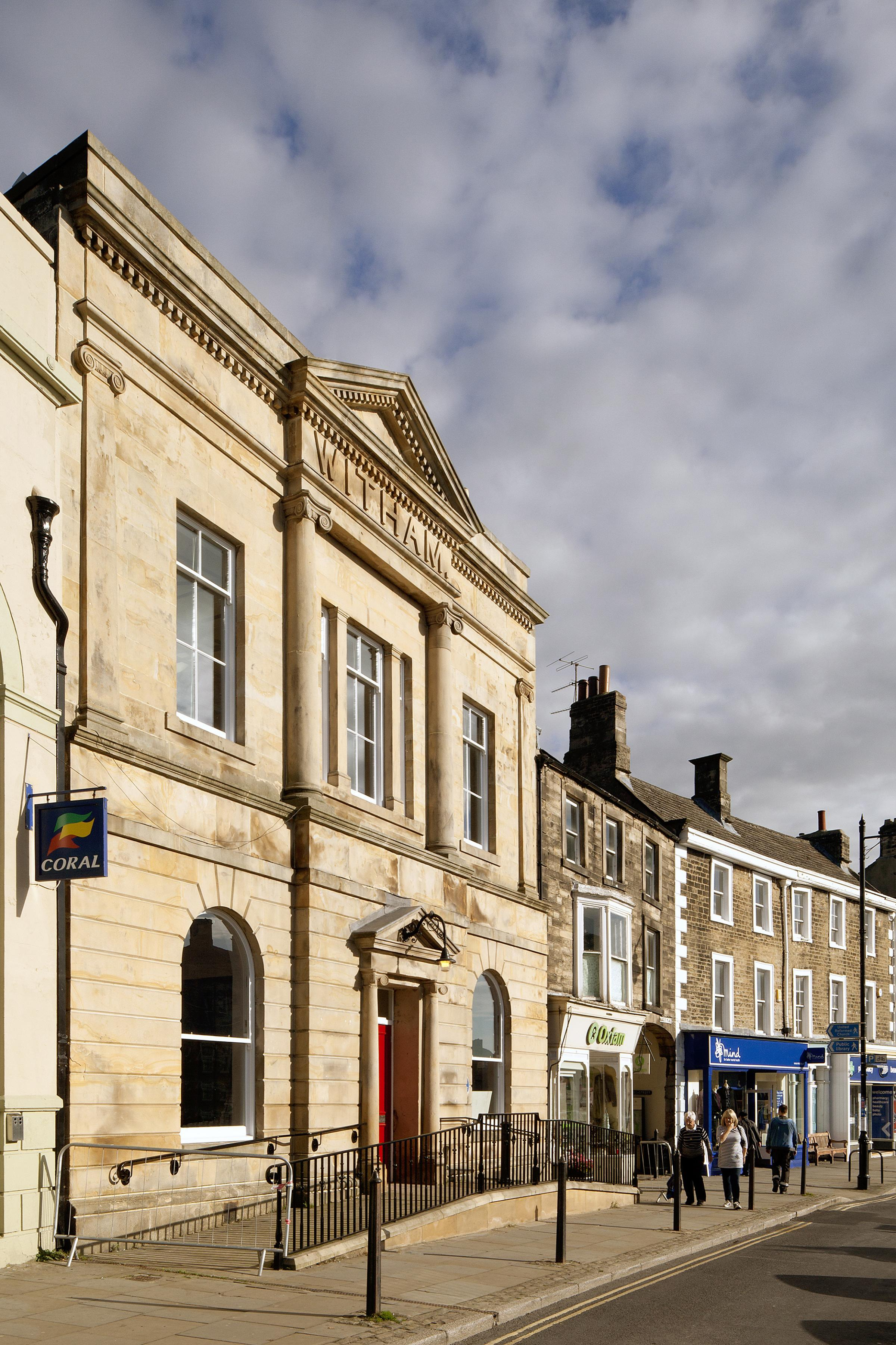 POPULAR: The Witham, in Barnard Castle, which receives a grant from the Arts Council