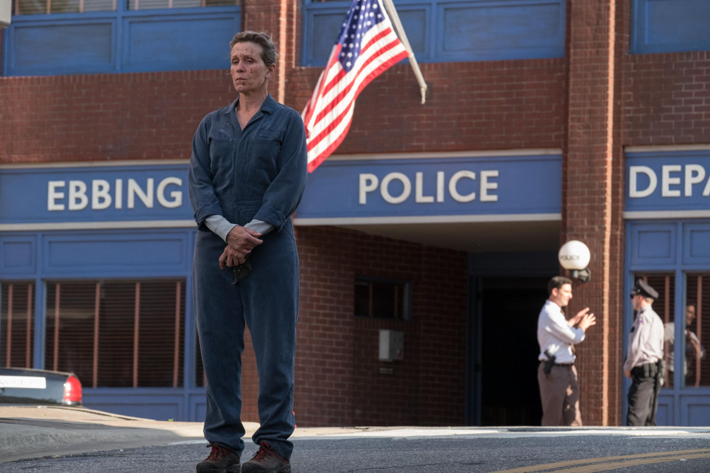 Three Billboards Outside Ebbing, Missouri. Pictured: Frances McDormand as Mildred Hayes