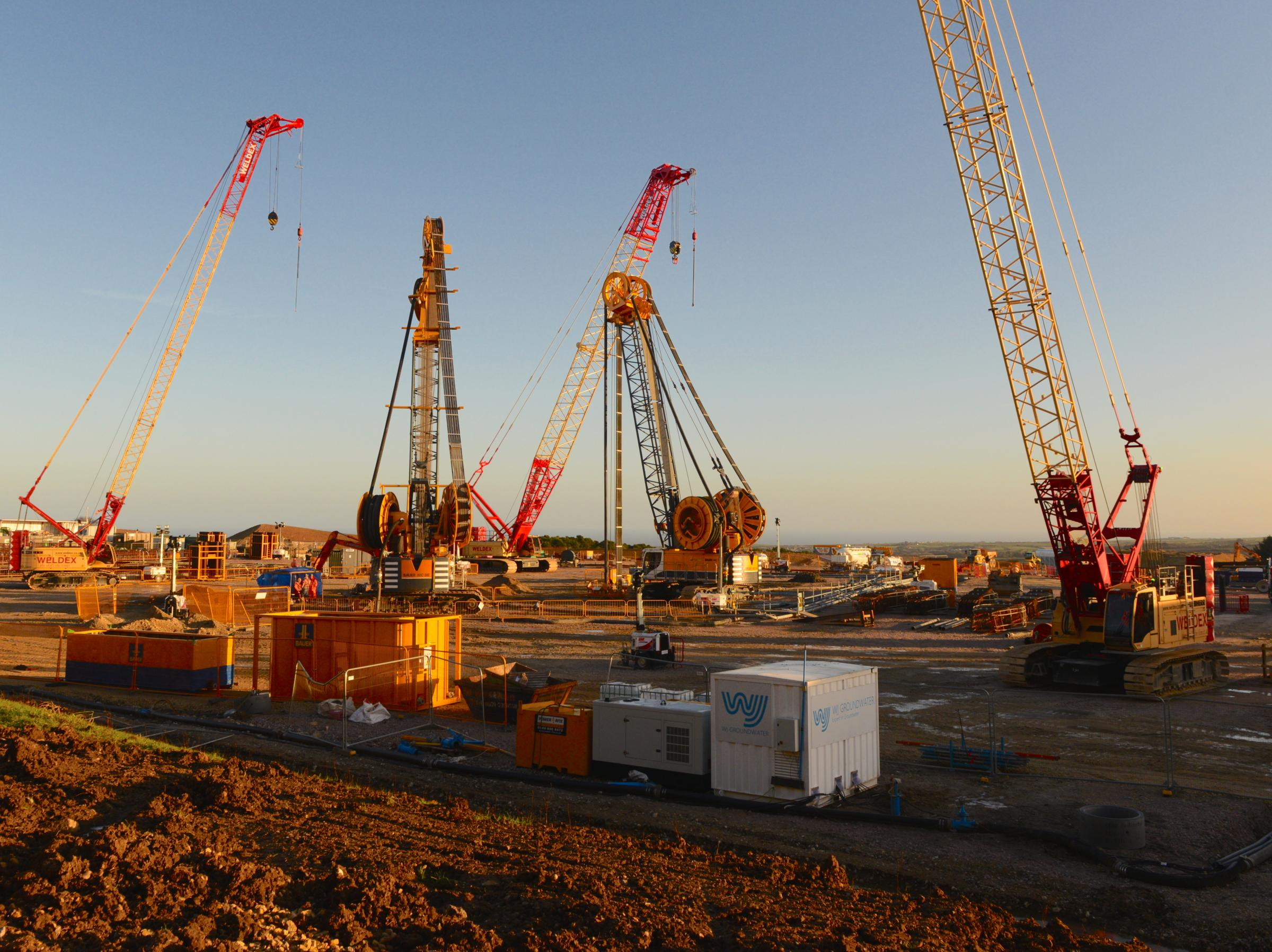 SITE: Work continues on Sirius Minerals' Woodsmith Mine, near Whitby