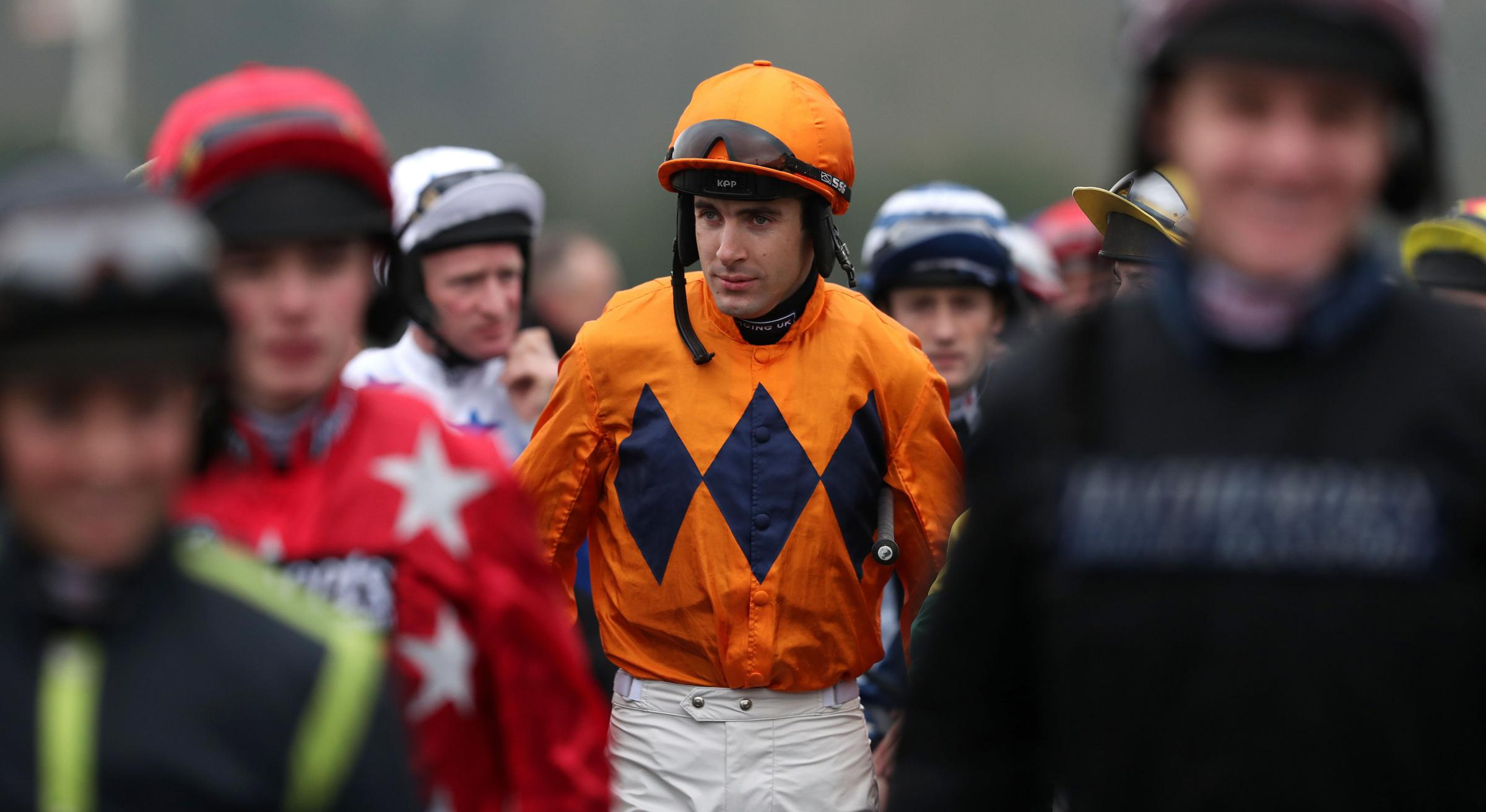NUDGED OUT: Aidan Coleman during Coral Welsh Grand National Day at Chepstow last weekend Picture: David Davies/PA Wire