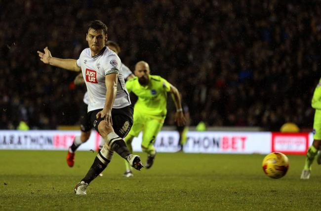TRANSFER TARGET: Sunderland are hoping to sign Derby striker Chris Martin on loan