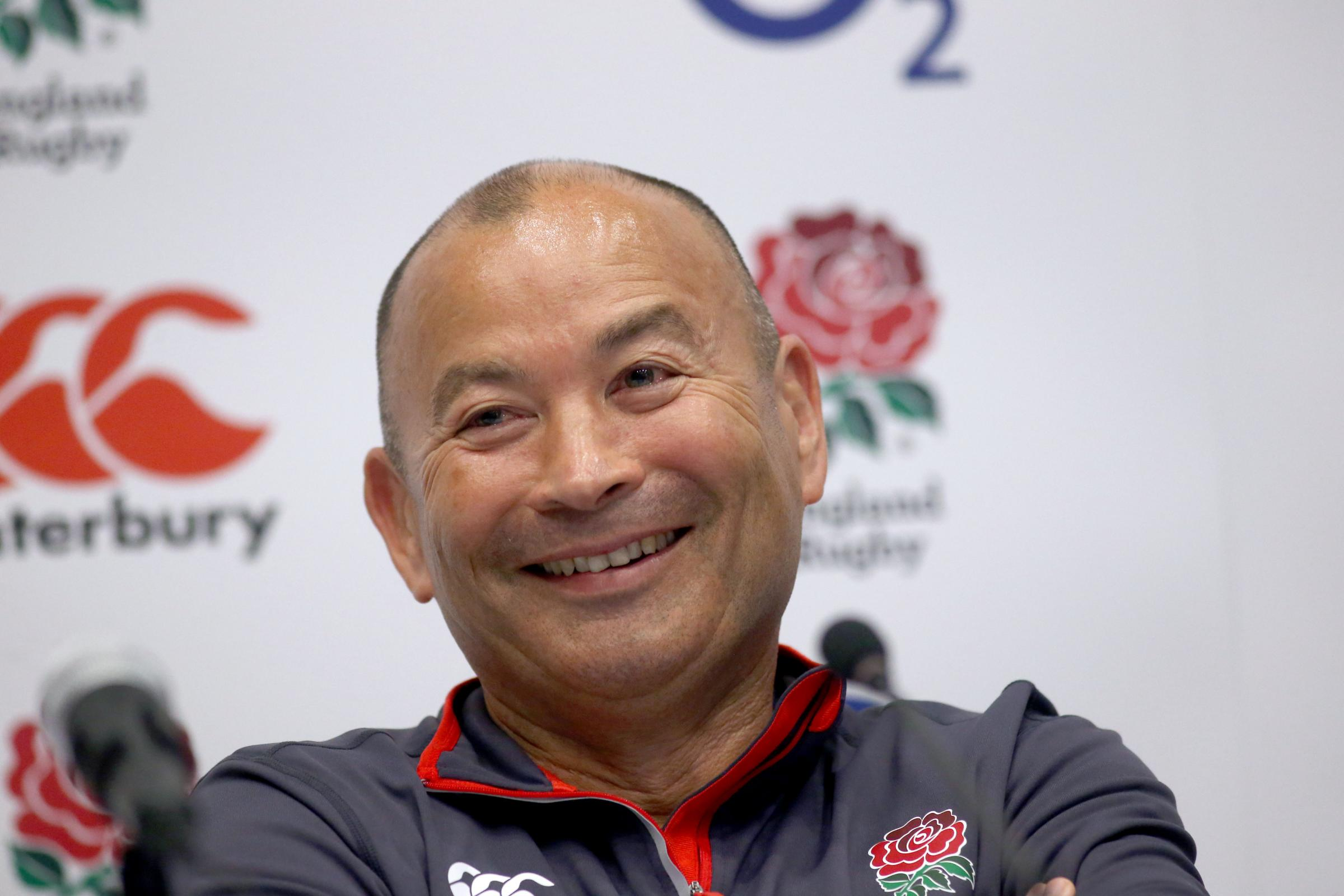 SQUAD CHOICES: England boss Eddie Jones