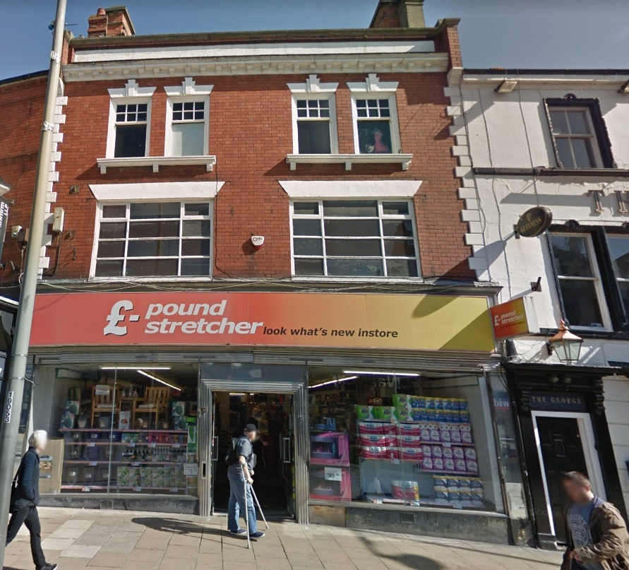 BURGLARY: The break-in took place at Poundstretcher in Darlington