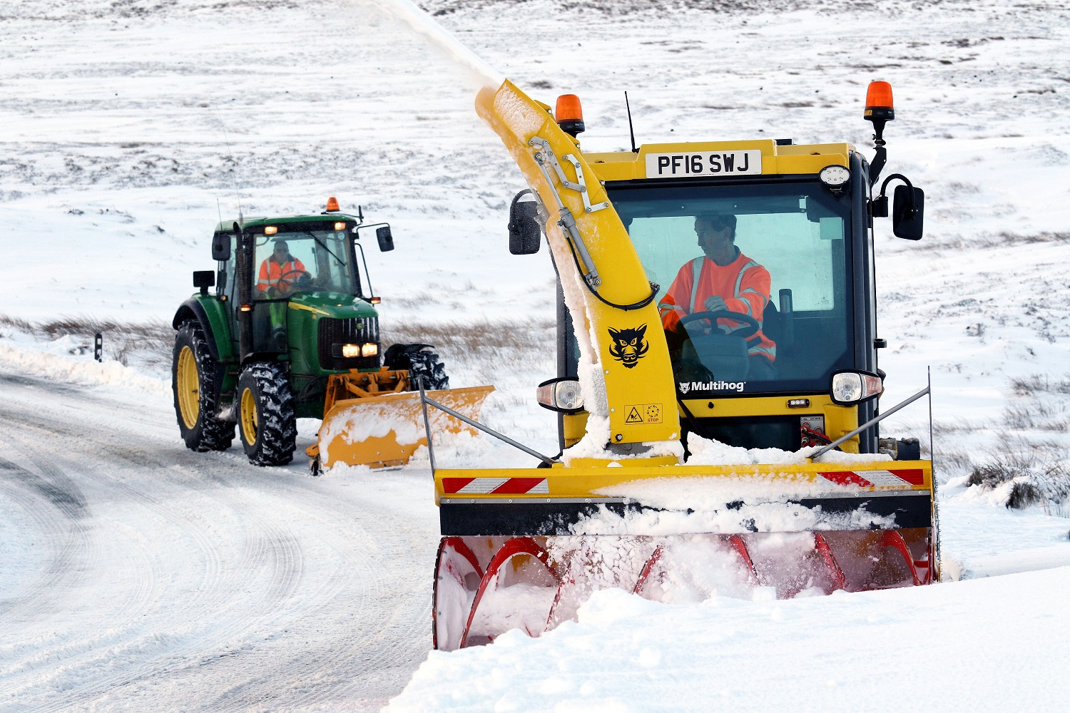 Work is continuing across County Durham to ensure minimum disruption for residents following heavy snowfall. Picture: DURHAM COUNTY COUNCIL