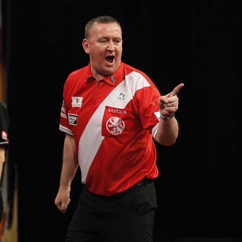WINNER: Glen Durrant recently won the BDO world darts competition for the second time in a row