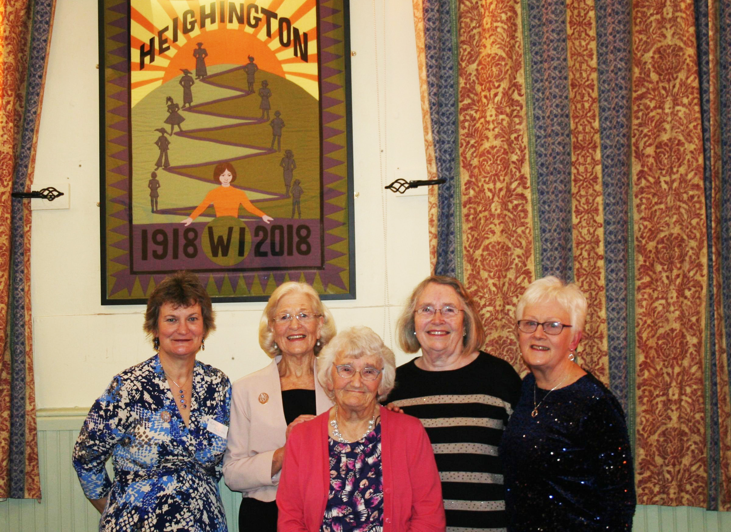 CENTENARY: Members of Heighington WI celebrate its centenary year
