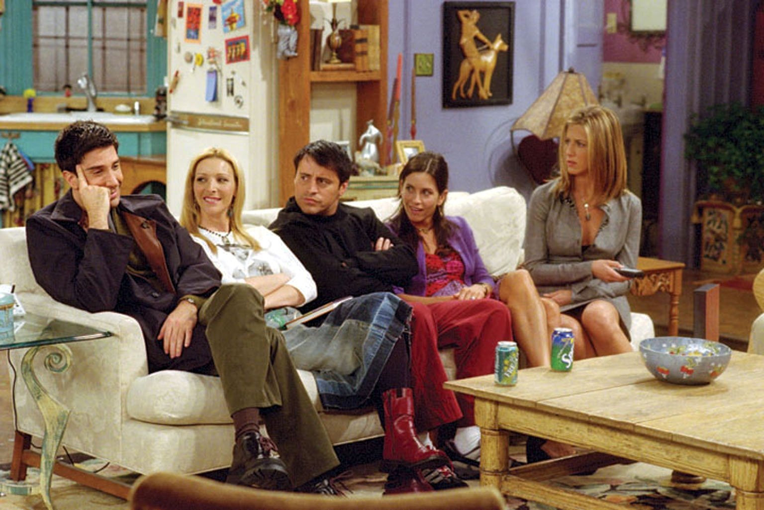POPULAR: TV show Friends which ran for 10 seasons