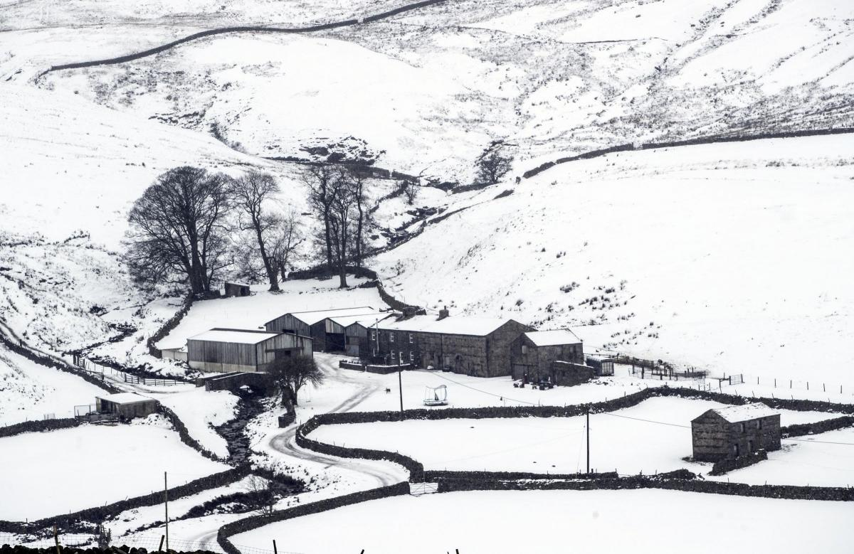 Warning of more misery on North-East roads as snow and rain sweep in ...