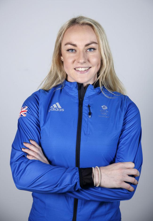 BOBSLEIGH STAR: Mica McNeill represented Team GB at the Winter Olympics in Pyeongchang