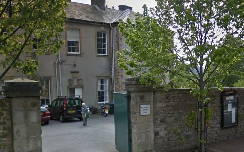 SUPPORT: A new food bank will be launched at St Thomas' Church Hall in Stanhope on Tuesday, May 29 Picture: GOOGLE