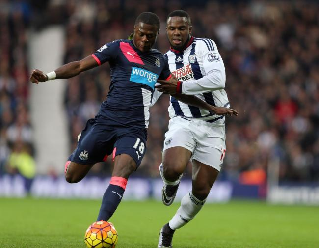 DONE DEAL: Chancel Mbemba has left Newcastle United to join Porto