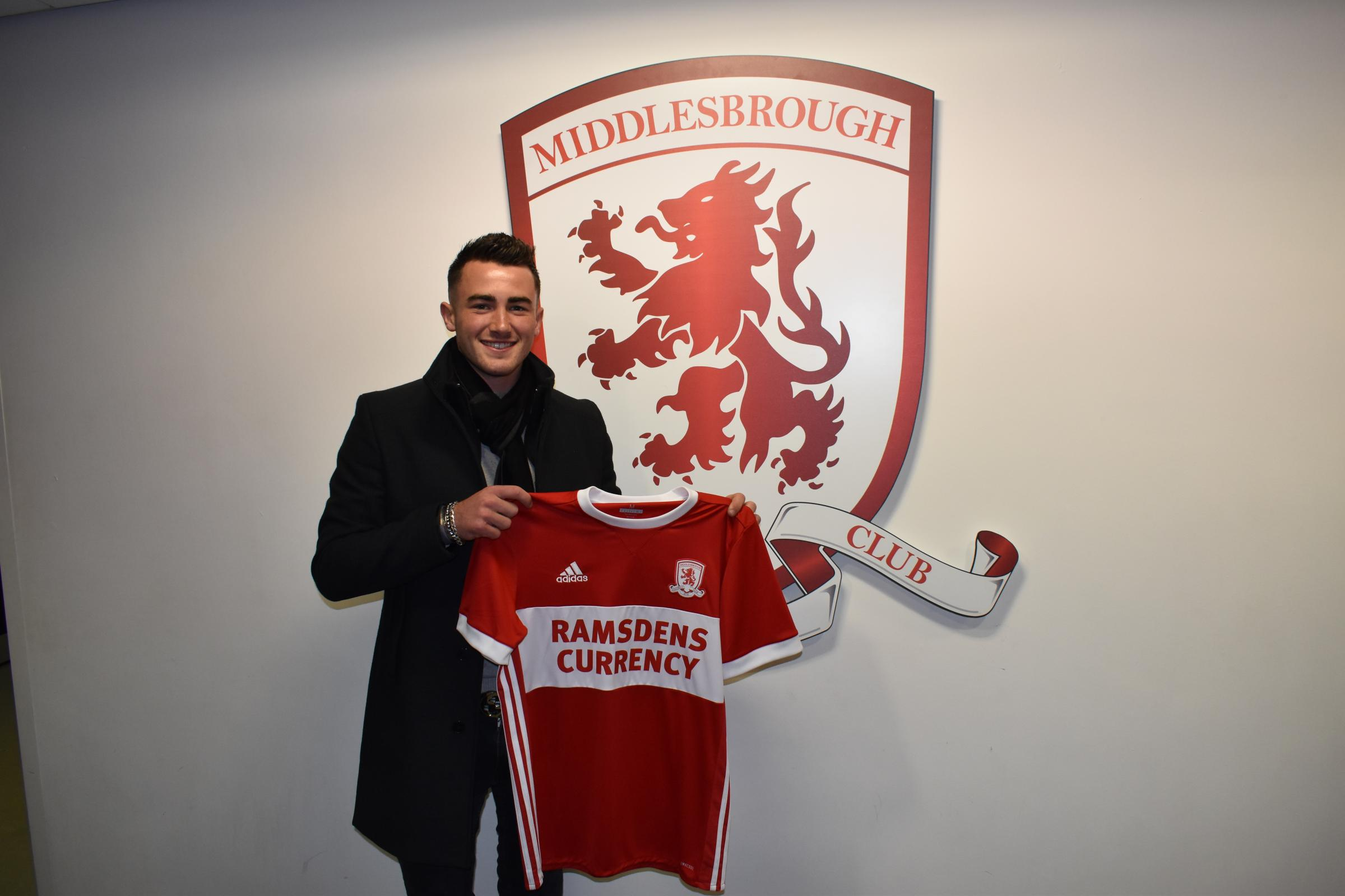 JANUARY SIGNING: Jack Harrison joined Middlesbrough on loan from Manchester City last month