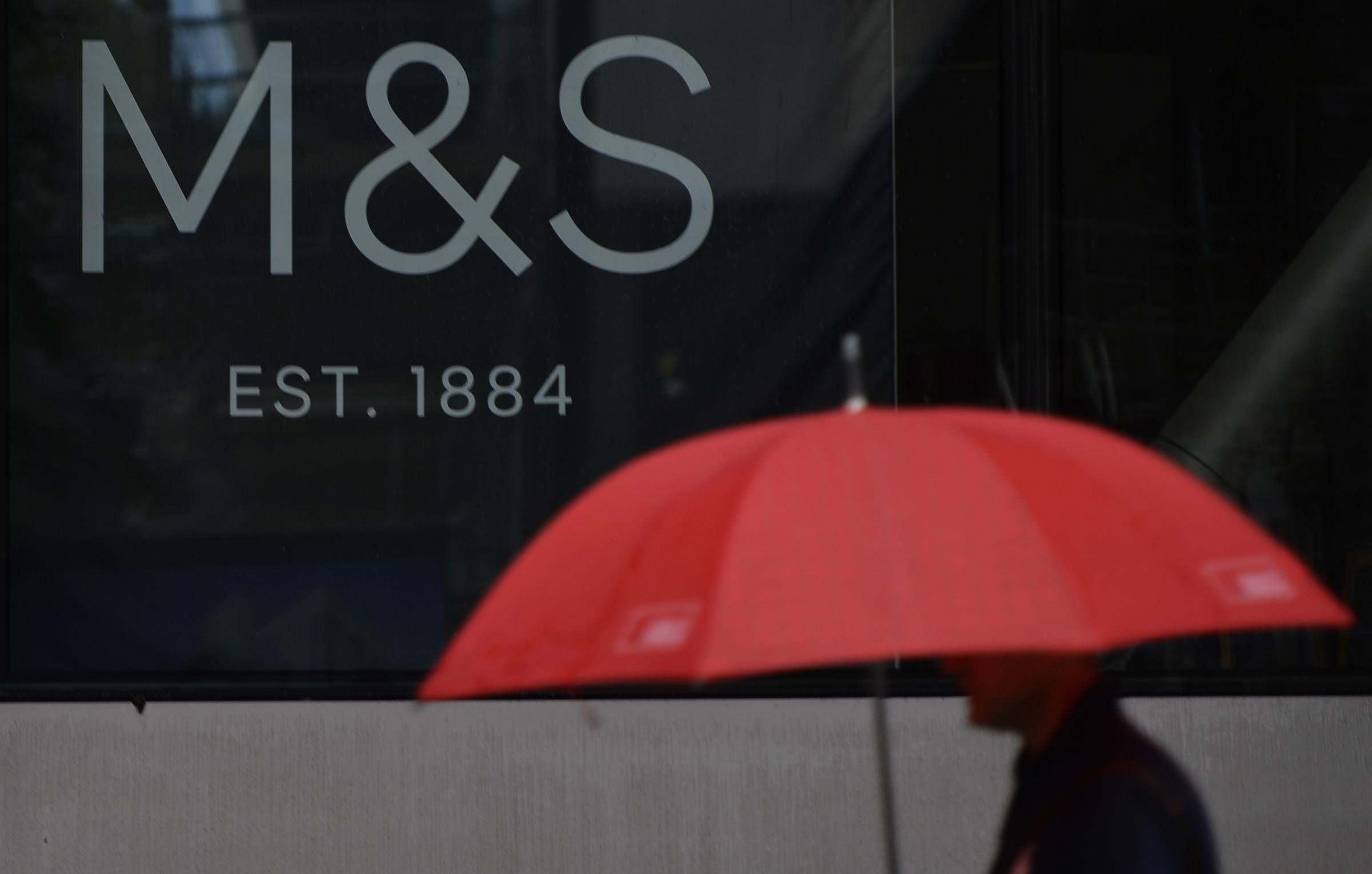 Marks & Spencer staff brace themselves as annual results expected to show fall in sales and profits. Picture: PA
