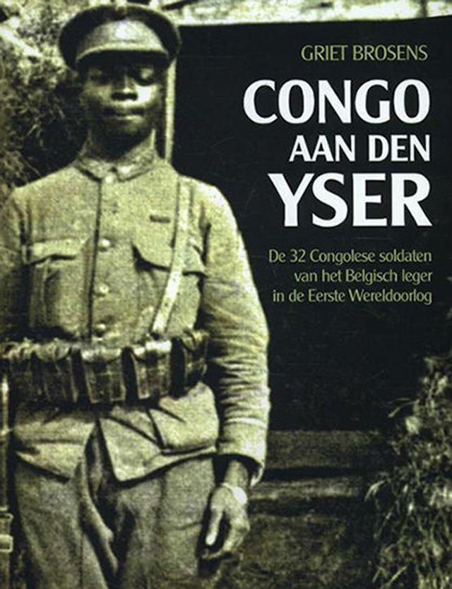 AFRICAN SOLDIERS: A book, in Dutch, about the 32 Congolese soldiers who fought with the Belgian army - one of the 32 died 100 years ago this week in County Durham