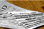 The Northern Echo: Newspaper Delivery Stack