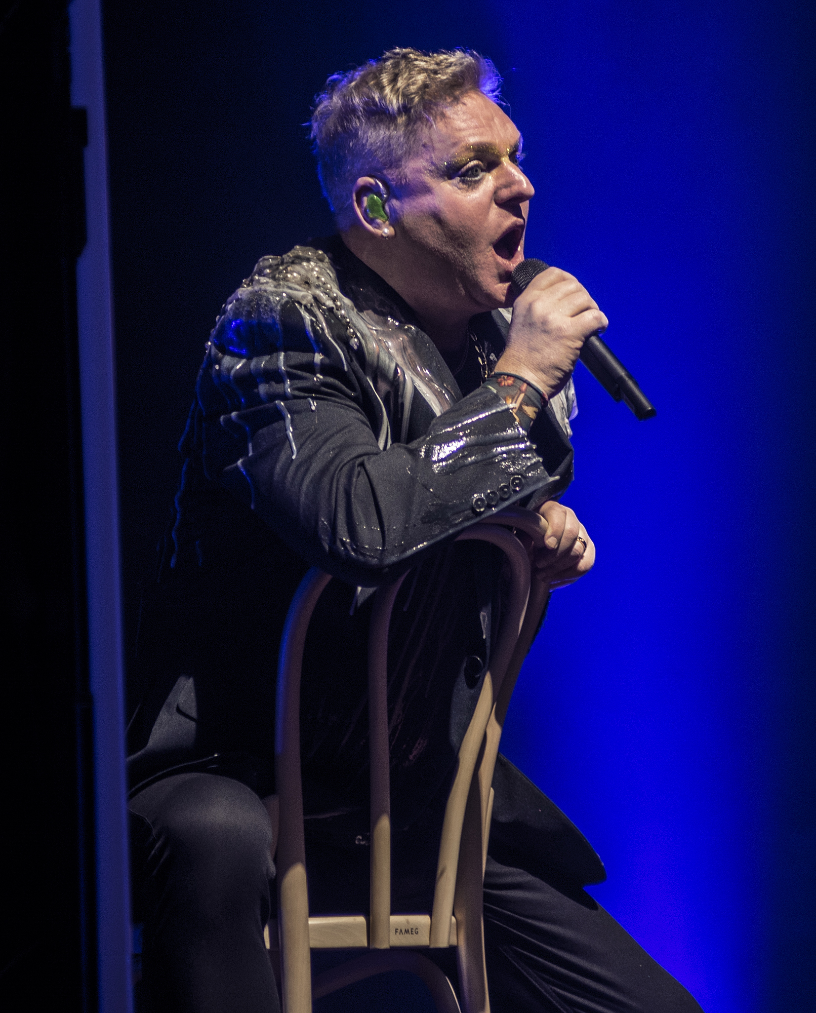 Andy Bell of Erasure who performed as Newcastle City Hall. Picture: DAVE LAWRENCE