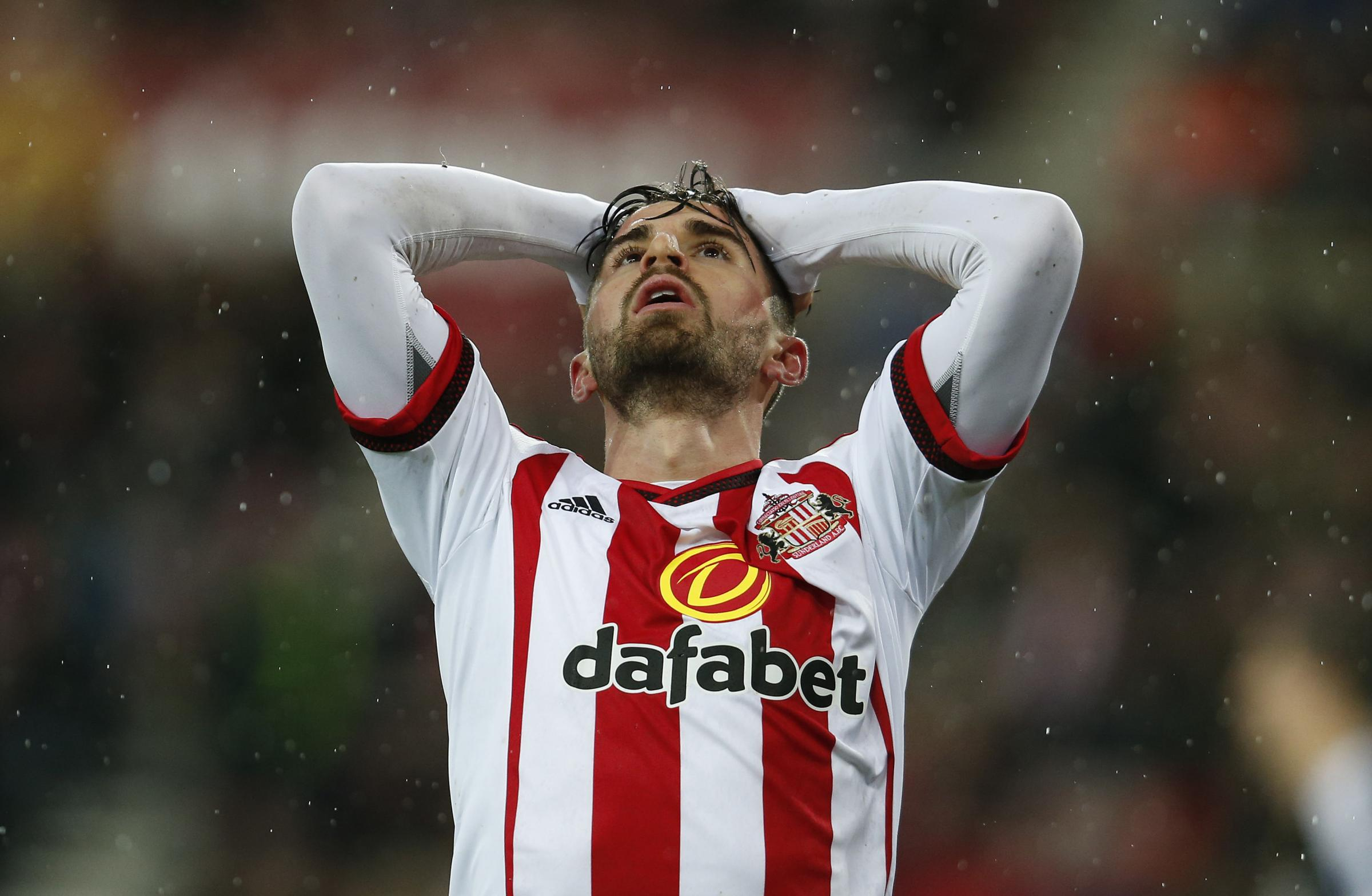LEAVING FOR GOOD: Fabio Borini will complete a permanent move from Sunderland to AC Milan in the summer