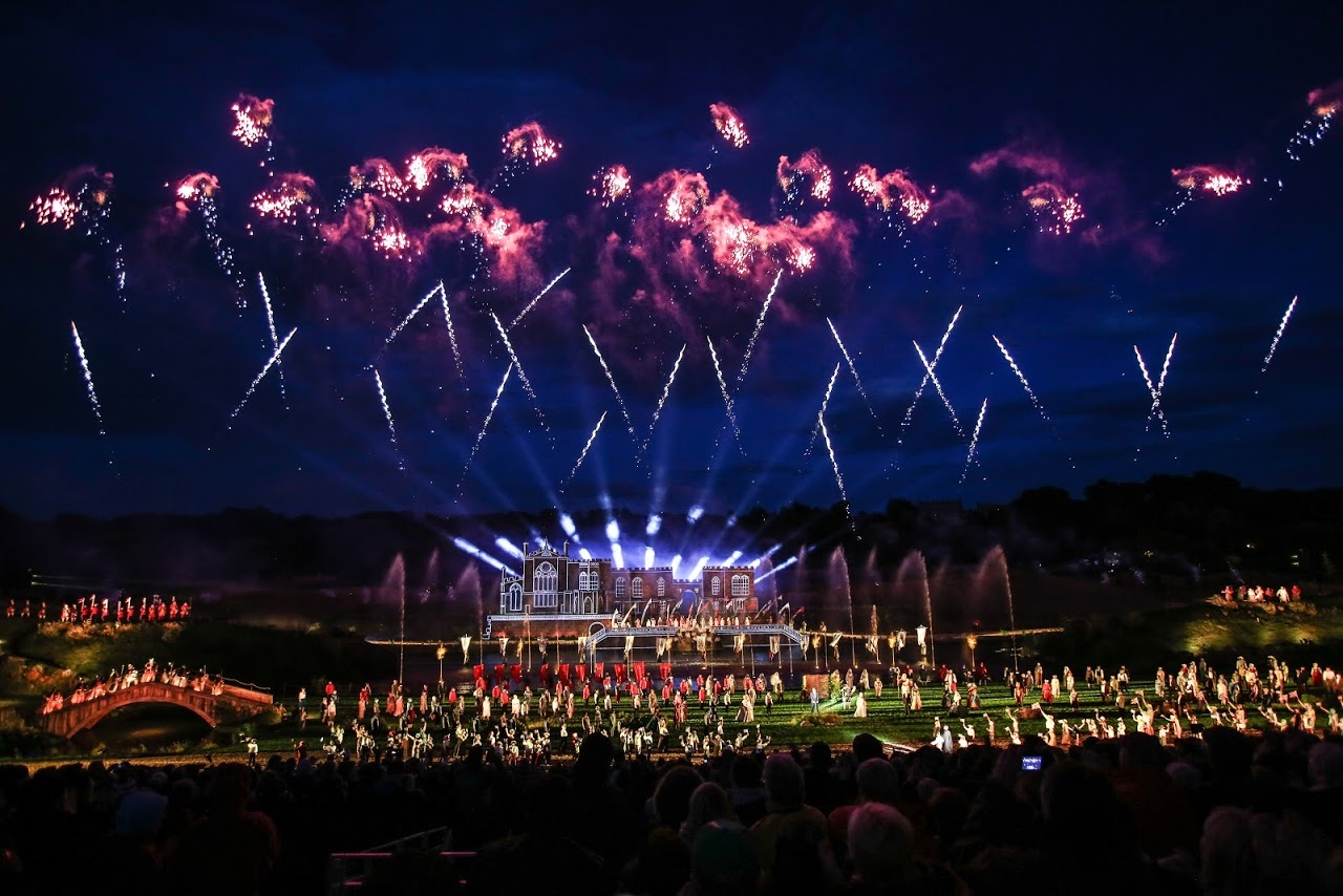ORDER: A traffic management order around the Kynren site is set to be made permanent Picture: TOM BANKS