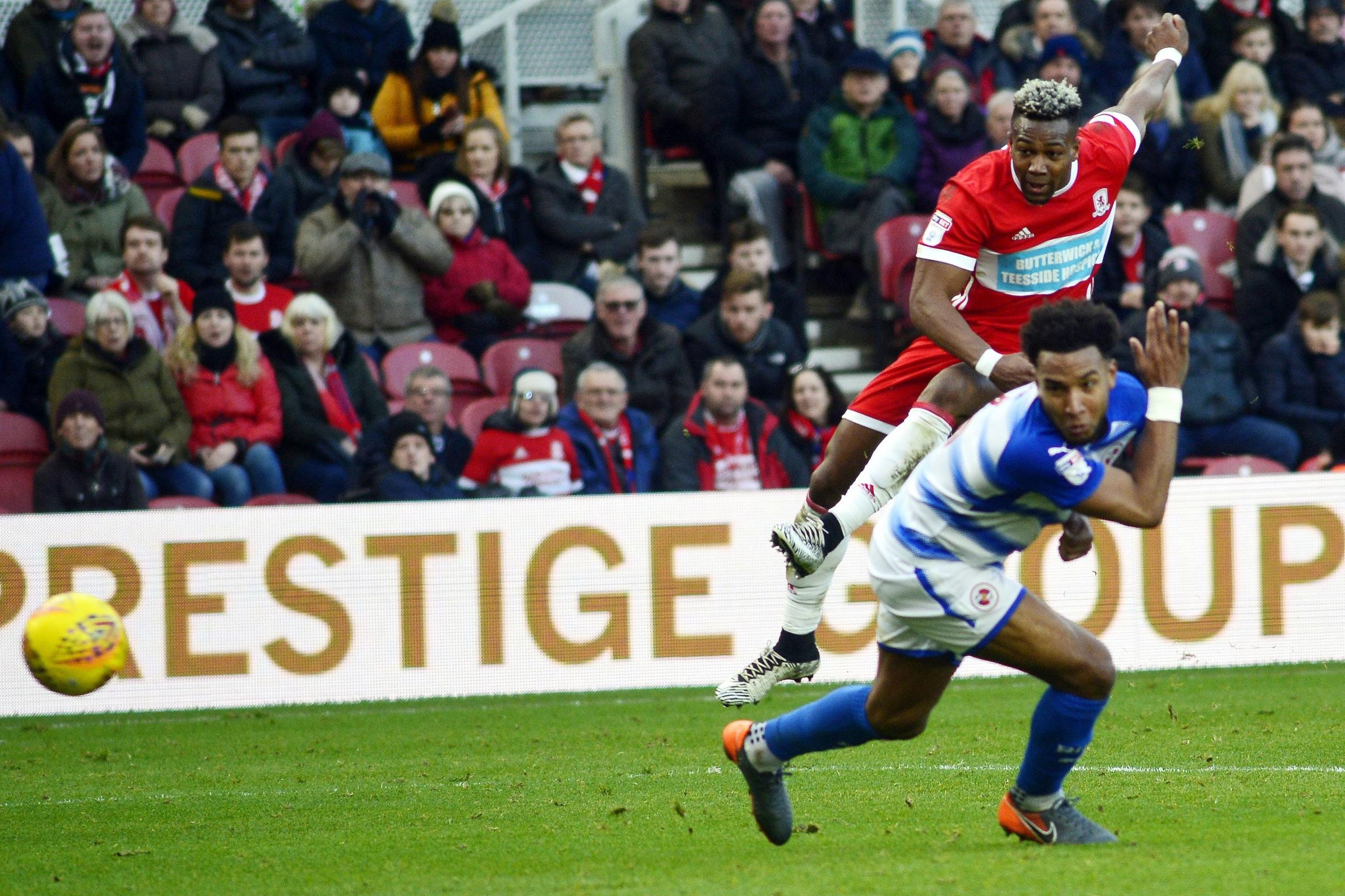 STAR MAN: Adama Traore scores his first goal. Pictures: Tom Collins