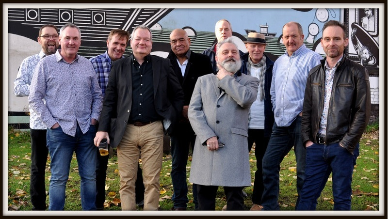 The ten-piece Mighty Smokin' Spitfires as they will appear at The Forum, Darlington, On Saturday, February 24, 2018 (Pictured supplied by the band)