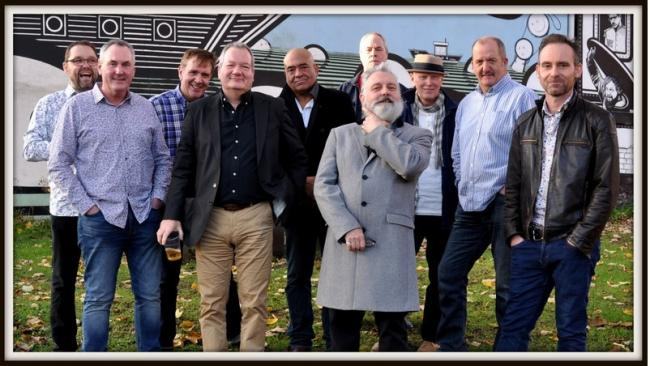 The ten-piece Mighty Smokin' Spitfires as they will appear at The Forum, Darlington