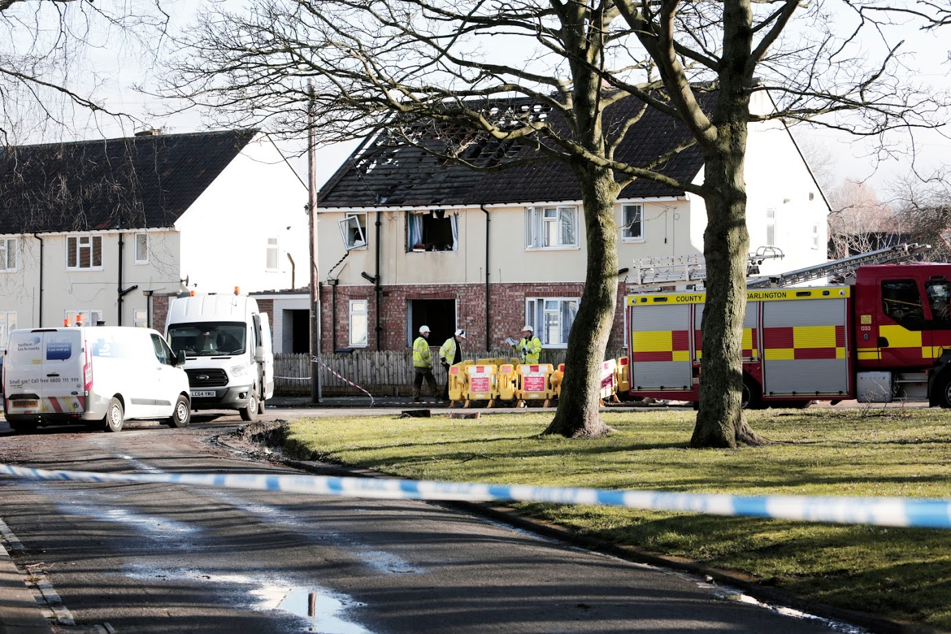 Man remains in 'critical condition' after Darlington house blast