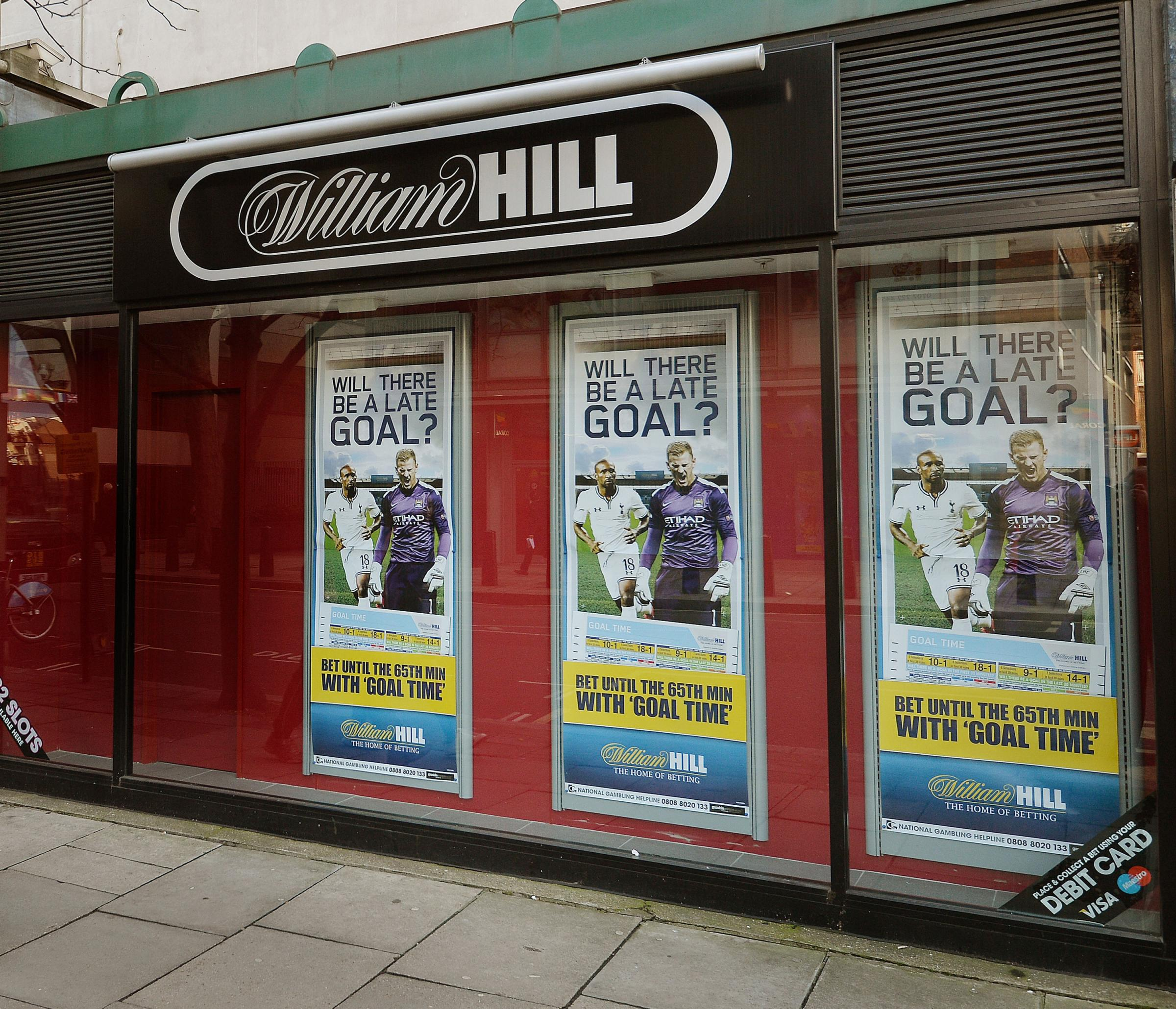 "FINE: Bookmaker William Hill who, the Gambling Commission has announced, is to pay a £6.2m penalty package for ""systemic social responsibility and money laundering failures"" Picture: John Stillwell/PA Wire"