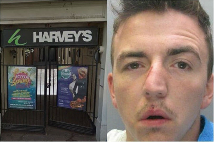 George Stephenson was said to have held the imitation Glock pistol to somebody's neck in Harvey's Late Bar in Houndgate, Darlington. Picture: GOOGLE/DURHAM POLICE